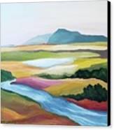 Fantasy Landscape Canvas Print by Carola Ann-Margret Forsberg