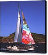 Fine Art Sails Canvas Print by Dan Cope