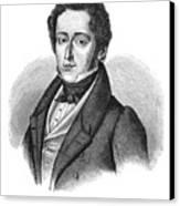 Frederic Chopin (1810-1849) Canvas Print
