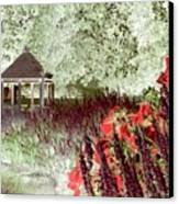Gazebo Scenic Canvas Print