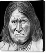 Geronamo Canvas Print