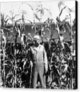 Giant Corn Man Canvas Print by Gerhardt Isringhaus