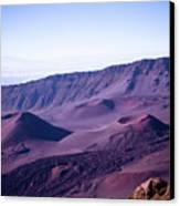 Haleakala Sunrise On The Summit Maui Hawaii - Kalahaku Overlook Canvas Print by Sharon Mau