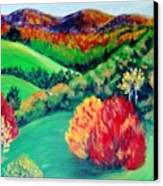Happy Valley Canvas Print by Lyn Vic