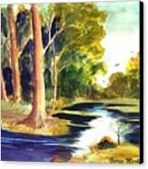 Hidden Glade Canvas Print