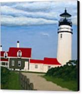 Highland  Lighthouse Canvas Print