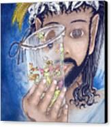 His Jarflies Canvas Print