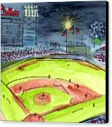 Home Of The Philadelphia Phillies Canvas Print by Jeanne Rehrig