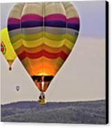 Hot-air Balloning Canvas Print by Heiko Koehrer-Wagner