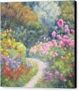 In Monets Footsteps Canvas Print