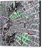 Inside Orbital City Canvas Print