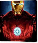 Iron Man Canvas Print by Caio Caldas