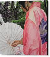 Japanese Based Canvas Print by Kodjo Somana