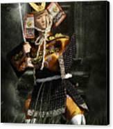 Japanese Samurai Doll Canvas Print