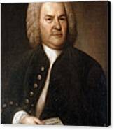 Johann Sebastian Bach, German Baroque Canvas Print