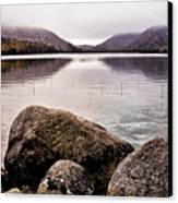 Jordan Pond Canvas Print by Chad Tracy