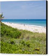 Juno Beach In Florida Canvas Print