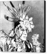 Kiowa Indian Canvas Print