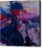 Lady Of La Mancha Dances Canvas Print by Penfield Hondros