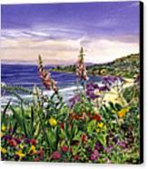 Laguna Niguel Garden Canvas Print by David Lloyd Glover