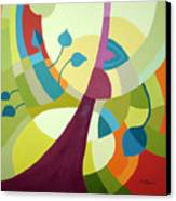 Leaning Towards Fall Canvas Print by Carola Ann-Margret Forsberg