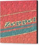 Led Zeppelin Canvas Print by RJ Aguilar