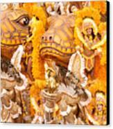Lets Samba Canvas Print by Sebastian Musial