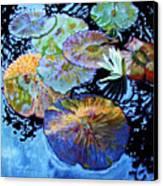 Lily Pad Palettes Canvas Print