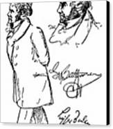 Ludwig Van Beethoven Canvas Print by Granger