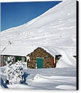 Madison Spring Hut- White Mountains New Hampshire Canvas Print by Erin Paul Donovan