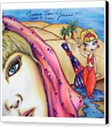 Make A Wish Canvas Print by Joseph Lawrence Vasile