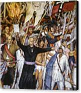 Mexico: 1810 Revolution Canvas Print by Granger