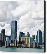 Miami Canvas Print by Nelson Rodriguez