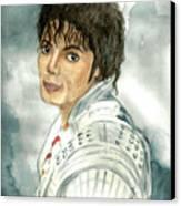 Michael Jackson - Captain Eo Canvas Print