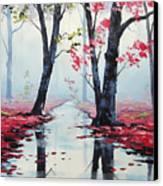 Misty Pink Canvas Print by Graham Gercken