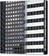 Modern High Rise Office Buildings Canvas Print by Roberto Westbrook
