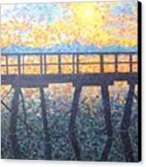 Mosiac Pier Canvas Print