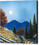 Mountain Moonrise Canvas Print