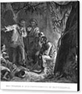Nat Turner (1800-1831) Canvas Print by Granger