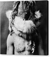 Navajo Mask, C1905 Canvas Print by Granger