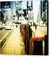 New York Times Square Canvas Print by Dapixara Art
