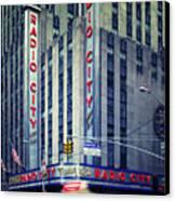 Nyc Radio City Music Hall Canvas Print