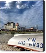 Ocean City Lifeboat Canvas Print by John Loreaux