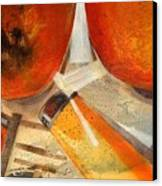 Orange Still Life Canvas Print