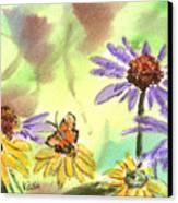 Oxbow Summer Canvas Print