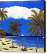 Palm Bay Canvas Print