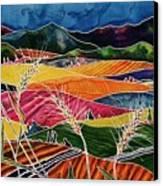 Palouse Fields Canvas Print by Carolyn Doe