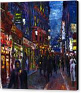 Paris Quartier Latin 01 Canvas Print