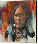 Plainsman Canvas Print by Robert Carver