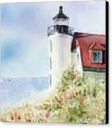 Point Betsie Canvas Print by Bobbi Price